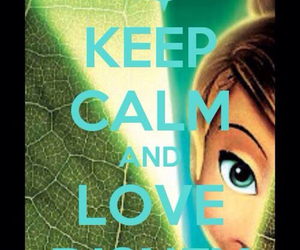 tinkerbell and love disney image