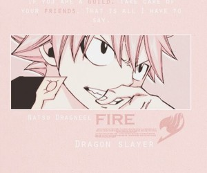 fairy tail, natsu, and dragon slayer image