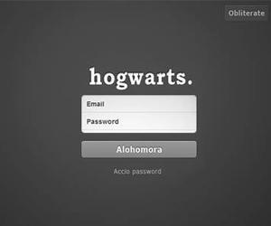 hogwarts, harry potter, and tumblr image