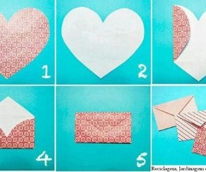 diy, heart, and envelope image