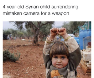 camera, child, and sad image