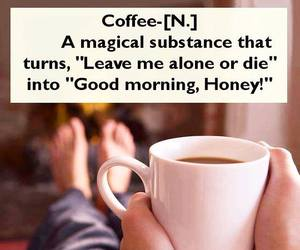 coffee, funny, and quotes image