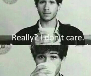 don't care and boy image