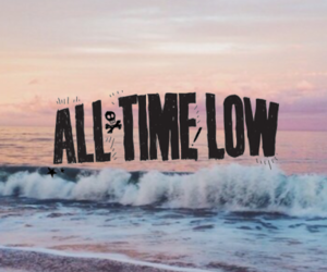 all time low, lockscreen, and love image