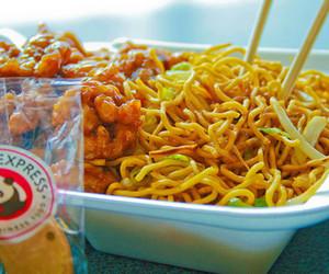 food, panda express, and chinese image