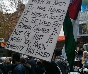 humanity and protest image