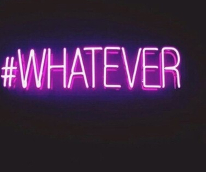 whatever, neon, and light image