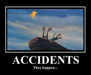 funny, accident, and disney image