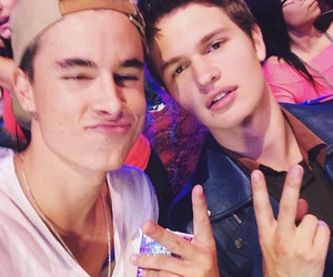 kian lawley, ansel elgort, and ansel image
