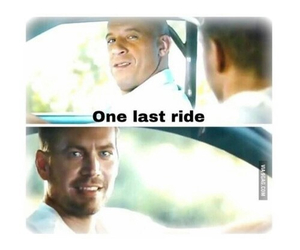 paul walker, Vin Diesel, and sad image