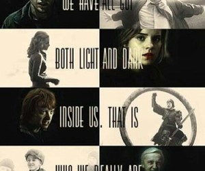 harry potter, hermione granger, and draco malfoy image