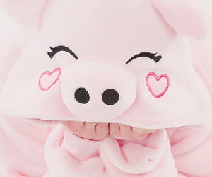 cute, pink, and kids image