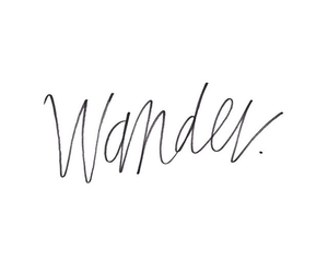 quote, wander, and words image