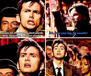 david tennant, doctor who, and william shakespeare image