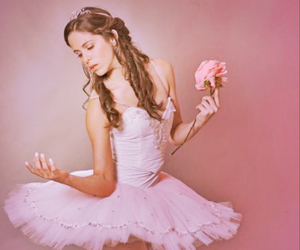 ballet, photography, and pink image