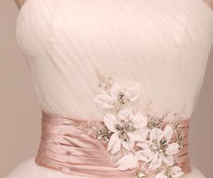 bridal, ivory, and lace image