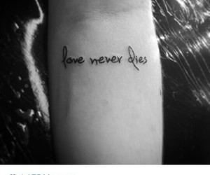 dies, ink, and never image
