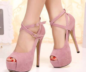 fashion, heels, and women shoes image
