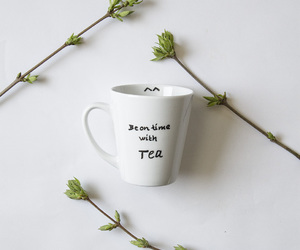 cup, cup of tea, and green tea image