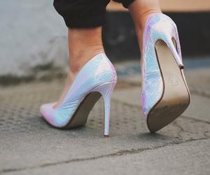 fashion, high heels, and heels image