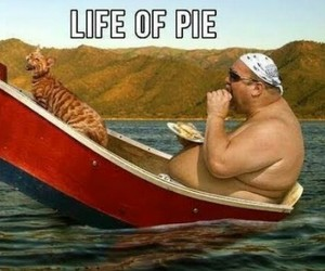 funny, lol, and pie image