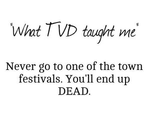 dead, festivals, and tvd image