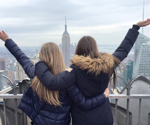 beautiful, blond, and new york image