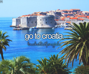 beautiful, Croatia, and bucketlist image