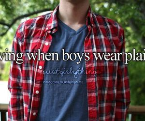 boy, plaid, and just girly things image