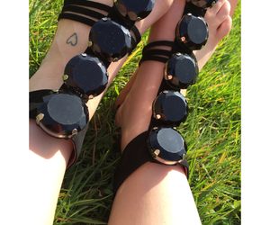 jeffrey campbell, jeffrey campbell shoes, and cute sandals image