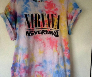 nirvana, Nevermind, and shirt image