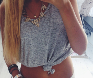 beautiful, belly, and blond image