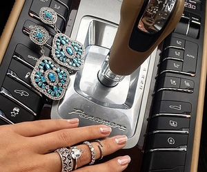 car, luxury, and rings image