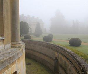 building, fog, and mist image