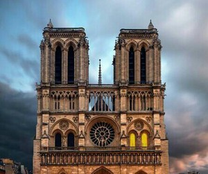 cathedral, magic, and notre dame image