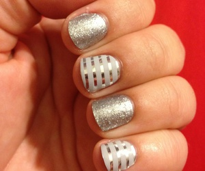 beauty, holiday, and nails image