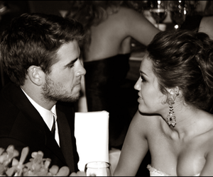 miley cyrus and liam hemsworth image
