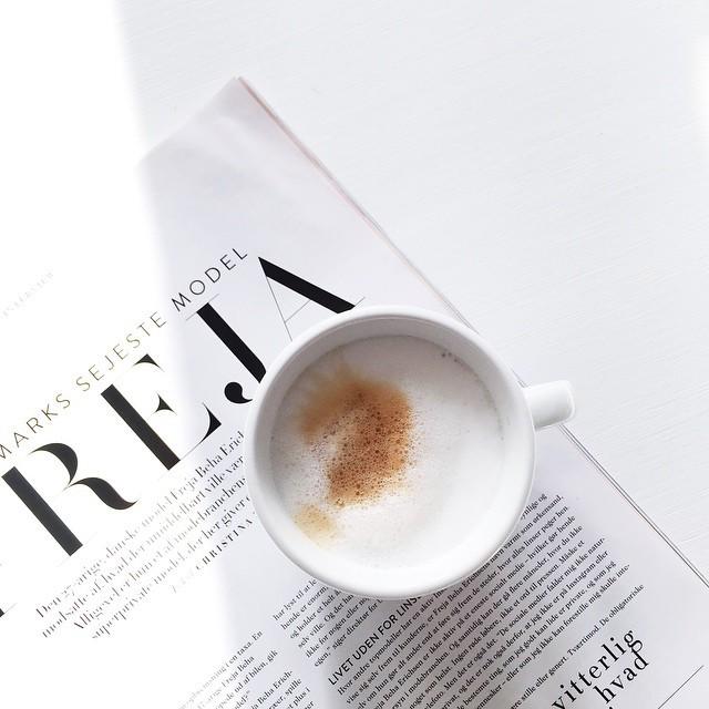 coffee, fashion, and minimalism image