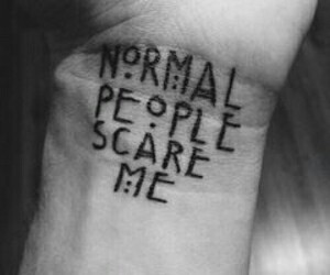 american horror story, ahs, and tattoo image