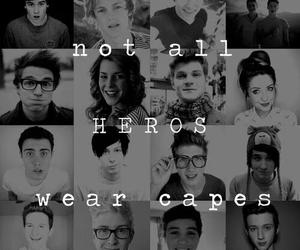 youtubers, heroes, and youtube image