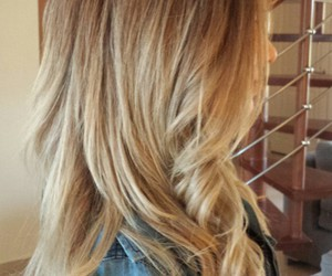blonde, curls, and grey image