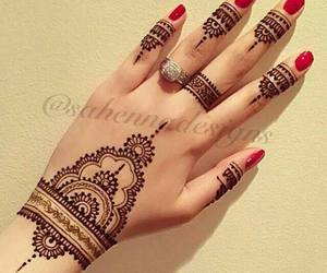 fashion, tatoo, and henna image