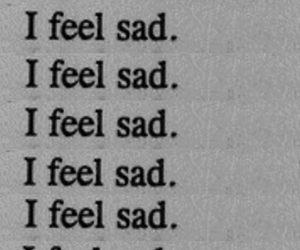 sad, text, and black and white image
