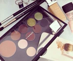 make up, eyeshadow, and mac image