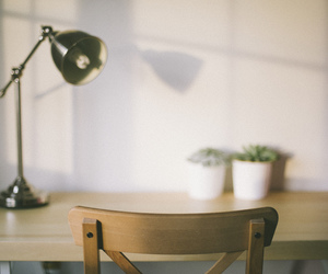 calm, light, and office image