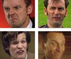 david tennant, doctor who, and john simm image