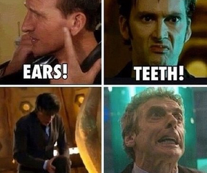 doctor who, matt smith, and peter capaldi image