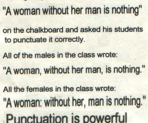 woman, punctuation, and quotes image