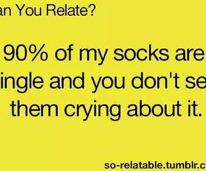 socks, funny, and single image