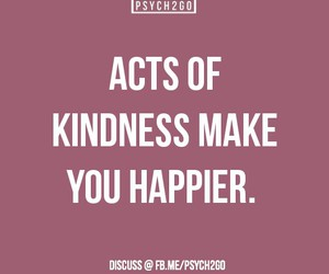 fact, happy, and kindness image